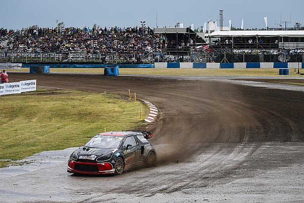 World Rallycross Leg report Argentina WRX: Solberg stays on top as qualifying ends