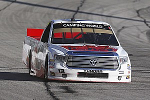 NASCAR Truck Race report Calgary's Cameron Hayley claims 19th place at Kansas Speedway