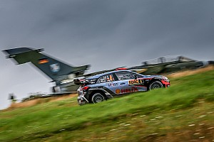 WRC Leg report Hyundai Motorsport on top form in Germany as battle for second intensifies