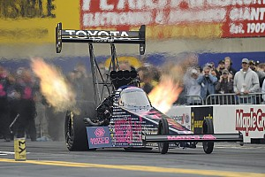 NHRA Analysis Brown trying not to think of a third title