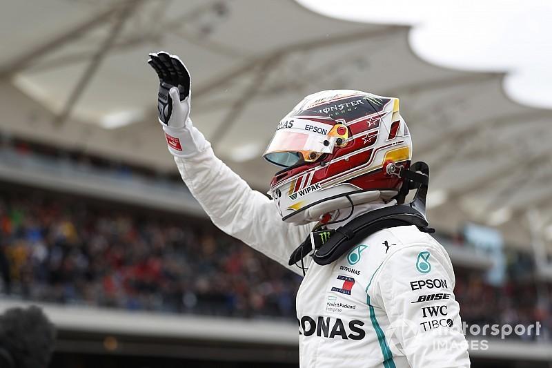 Льюис Хэмилтон победил вквалификации Гран-при США «Формулы-1»