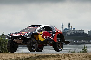 Cross-Country Rally Leg report Silk Way Rally: Peugeot in command as Loeb chases Despres