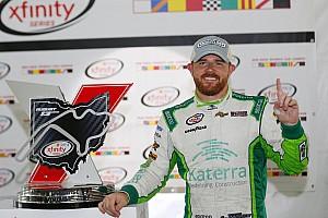 NASCAR XFINITY Reporte de la carrera  Justin Marks gana su primera carrera en Xfinity