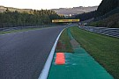 Spa installs new kerb for Belgian GP race