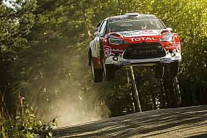 WRC Leg report Finland WRC: Meeke takes early lead as Latvala and Tanak lose time