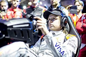 Формула E Новость Компьютерный гонщик Гюйс получил $200 тысяч, переиграв звезд Формулы Е