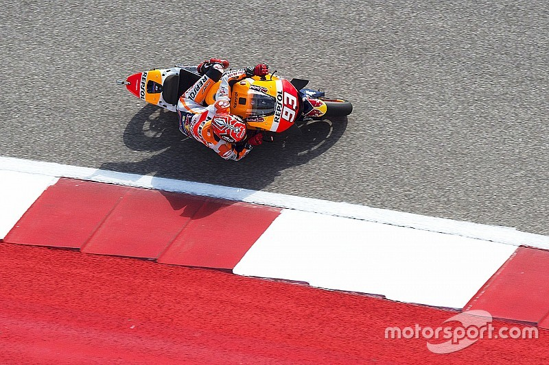 Austin MotoGP: Marquez edges out Iannone in third practice
