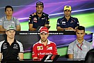 Formula 1 German GP: Thursday's press conference