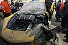 IMSA Corvette Racing switches to backup car following fire damage