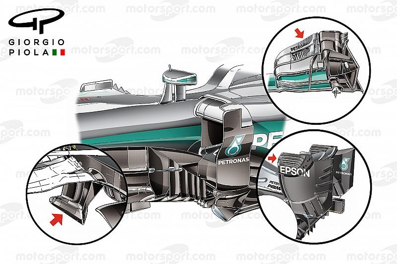 Відеоаналіз: Секрети боліду Mercedes W07