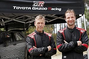 WRC 速報ニュース ユホ・ハンニネン、2017年トヨタWRCドライバーに決定! リンドストロームがコ・ドライバー