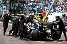 High temperatures caused Mercedes fuel pressure issues