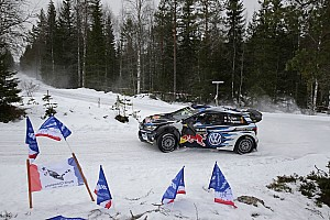 WRC Leg report Sweden WRC: Paddon closes on Ogier as Meeke crashes