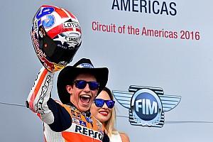MotoGP Race report Austin MotoGP: Marquez dominates again, Rossi crashes out