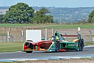 Abt leads rain-affected third Formula E test day