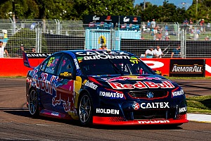 Supercars Qualifying report Townsville Supercars: Van Gisbergen takes provisional Sunday pole