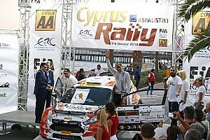 ERC Gara Alexey Lukyanuk domina a Cipro ed è Vice Campione, applausi per Griebel