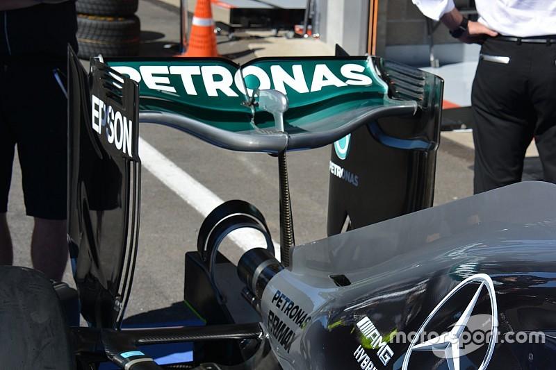 Bite-size tech: Mercedes 'spoon' rear wing
