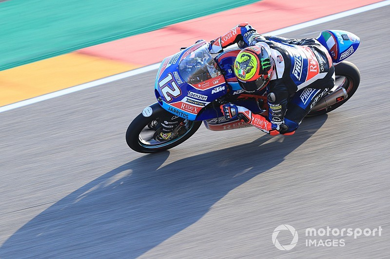 Moto: Aragon, allo spagnolo Martin la pole della Moto3