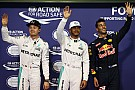 Abu Dhabi GP: Hamilton takes pole from Rosberg for title decider