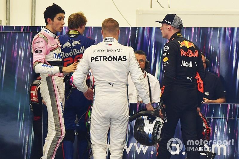 Tensión en la Fórmula 1: Verstappen empujó a Esteban Ocón