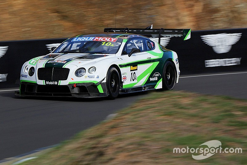 Bathurst 12 Hour: Bentley ends Day 1 fastest