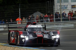 Le Mans Practice report Le Mans 24 Hours: Audi leads red-flagged warm-up