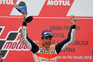 MotoGP Race report Argentina MotoGP: Marquez gets revenge on Rossi with blistering win