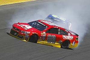 NASCAR Sprint Cup Breaking news Another promising run for Dale Jr. sub Alex Bowman cut short