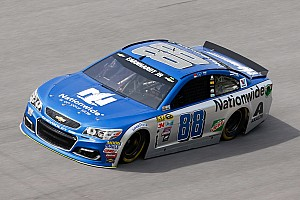 Dale Earnhardt Jr. crashes out early in the running at Talladega