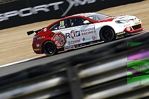 BTCC Practice report Donington BTCC: Cook tops shortened first practice