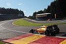 Formula 1 Magnussen crash brings Belgian GP to a halt