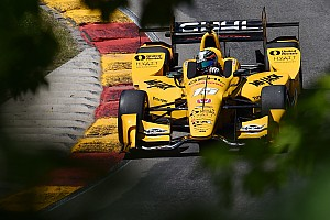 IndyCar Practice report Rahal tops second practice at Road America