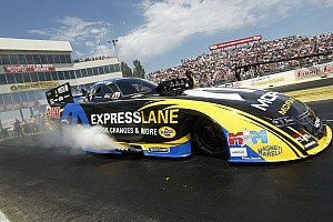 NHRA Qualifying report Force, Hagan and Line Earn No. 1 qualifying positions at NHRA Kansas Nationals
