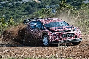 WRC Breaking news Meeke completes first test of Citroen's 2017-spec car