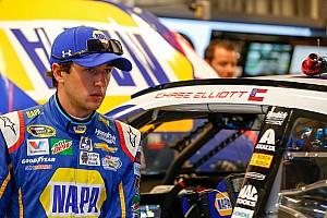 NASCAR Sprint Cup Breaking news Rookies Elliott and Blaney collide at Kentucky