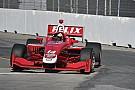 Indy Lights Rosenqvist takes pole at Toronto