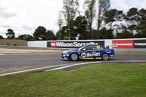 Supercars Practice report Sandown 500: Coulthard tops damp warm-up