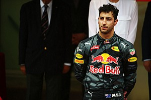 Red Bull reveals Ricciardo's tyres trapped at back of garage