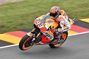 "MotoGP Breaking news Marquez: ""No big drama"" if I can't win Sachsenring race"