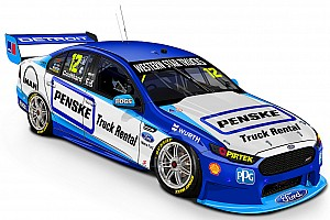 Supercars Breaking news Penske returns to Truck Rental livery for Ipswich