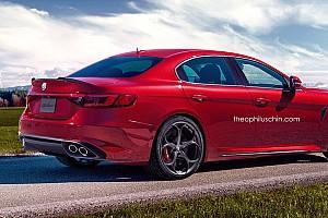 OTOMOBİL Son dakika Alfa Romeo'nun BMW 5 Serisi rakibi 2018'de geliyor