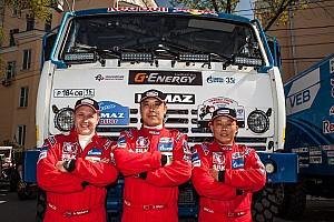 其他拉力赛 突发新闻 达喀尔卡车冠军车队首迎中国车手 卡玛兹的中国战略