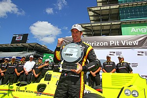 IndyCar Qualifying report Pagenaud on pole again as title rivals slip badly
