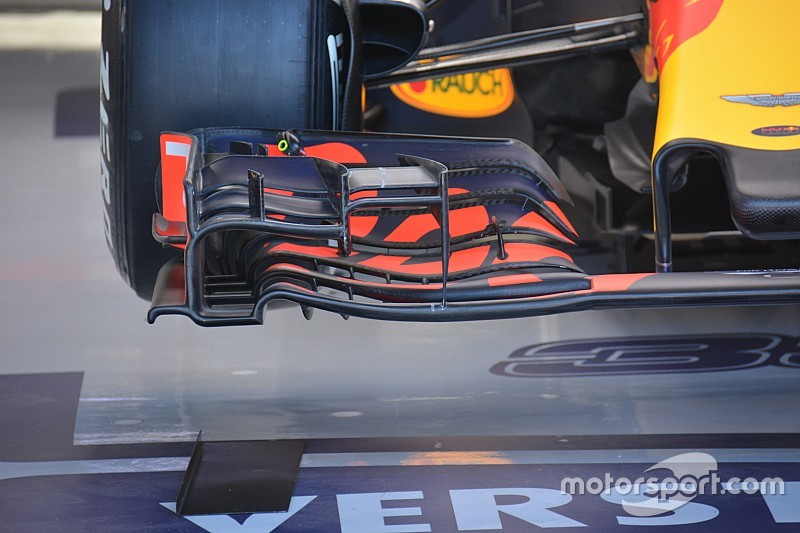 Bite-size tech: Red Bull front wing