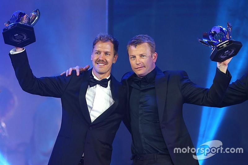 Kimi Räikkönen, star de la cérémonie FIA