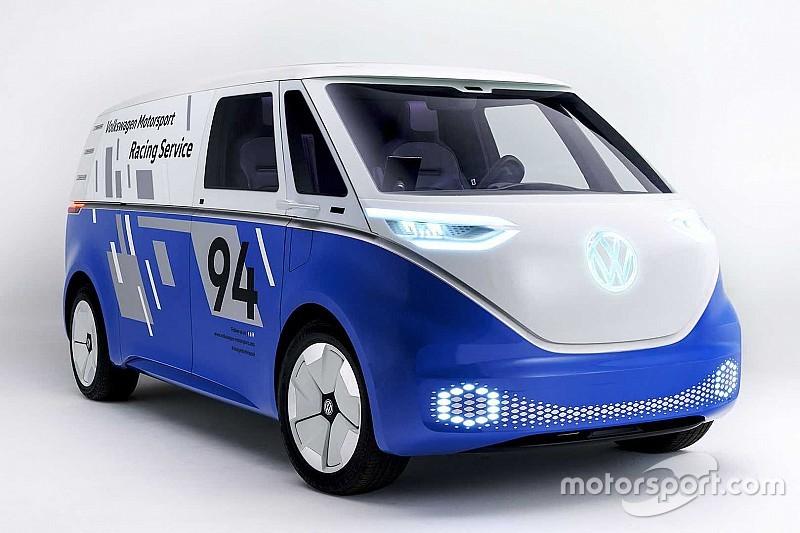 Salon de Los Angeles : le Volkswagen I.D. Buzz Cargo en tenue de sport