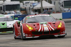 IMSA Qualifying report Ferrari 488 GT3 claims pole position at Sebring in world debut