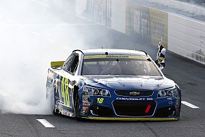 NASCAR Sprint Cup Race report Johnson will have a shot at history after huge Martinsville win
