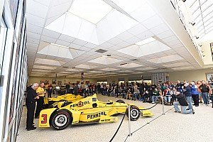 IndyCar Top List Team Penske 50th Anniversary celebrated at IMS HoF Museum